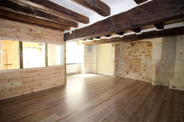 Le local du nouvel atelier, vu de l'intérieur