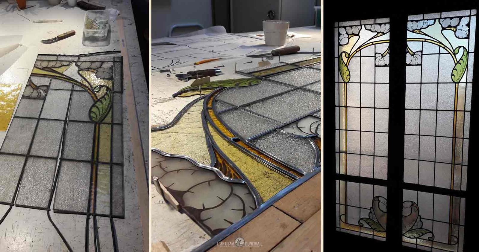 Restauration de vitraux | L\'Artisan du Vitrail | Montélimar