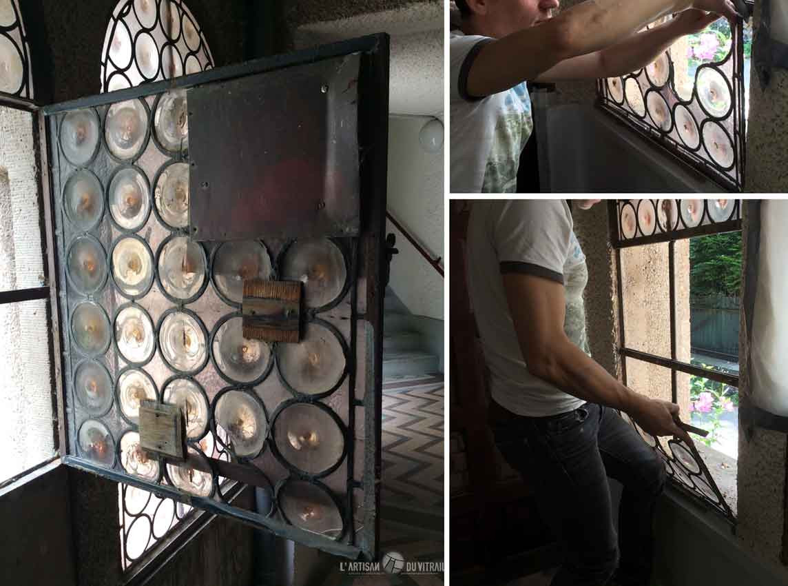 Restauration vitraux XXème s. | Création vitraux | L\'Artisan du ...