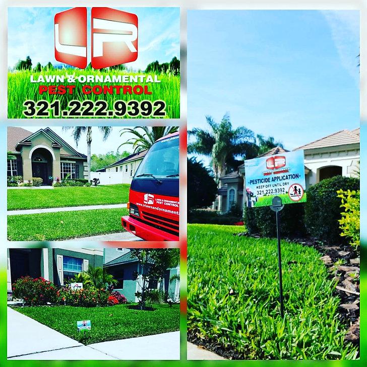 LR Lawn & Ornamental Pest Control