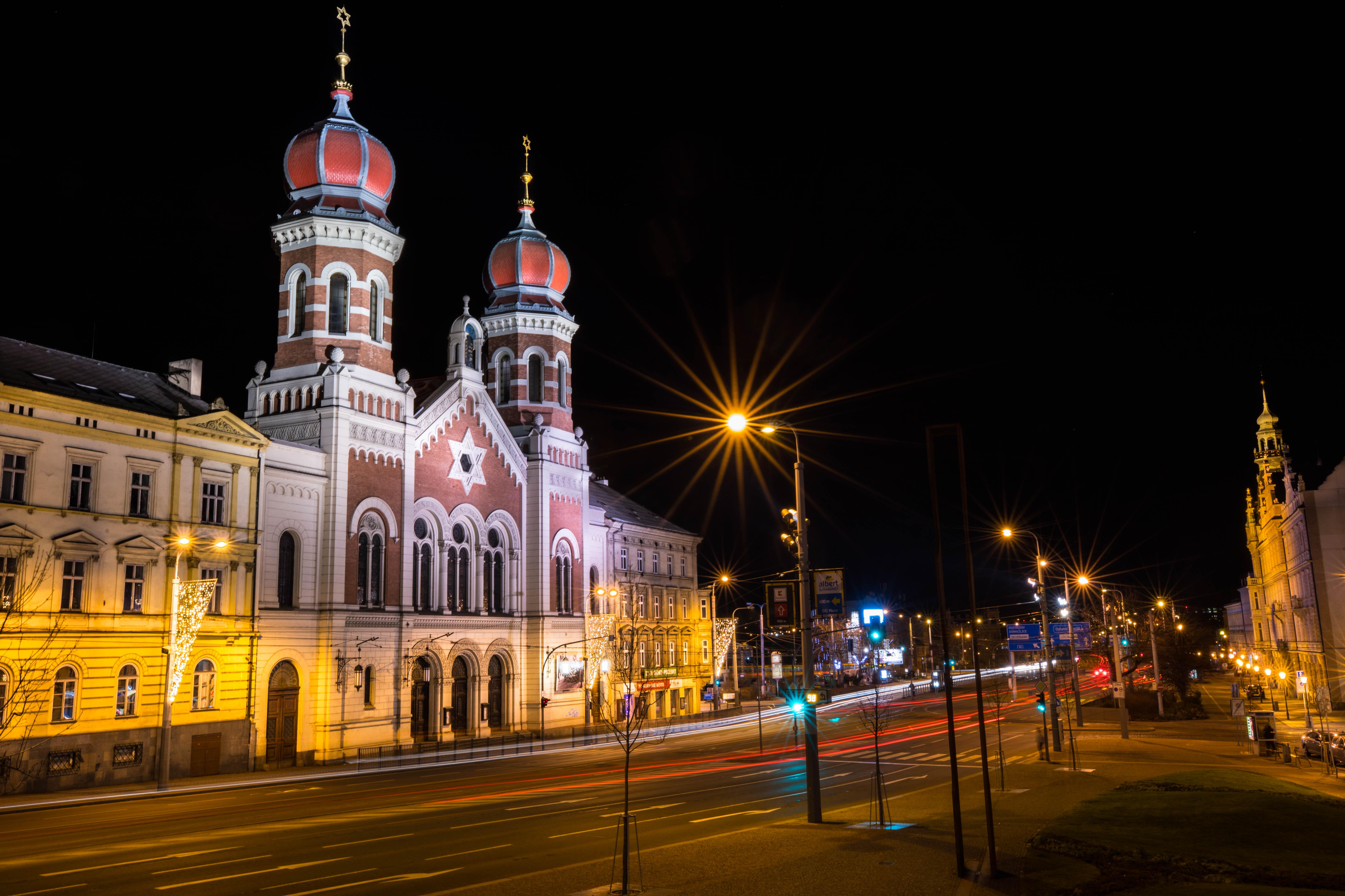 Synagogue in Plzen