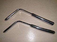 ヘラ型肛門鏡