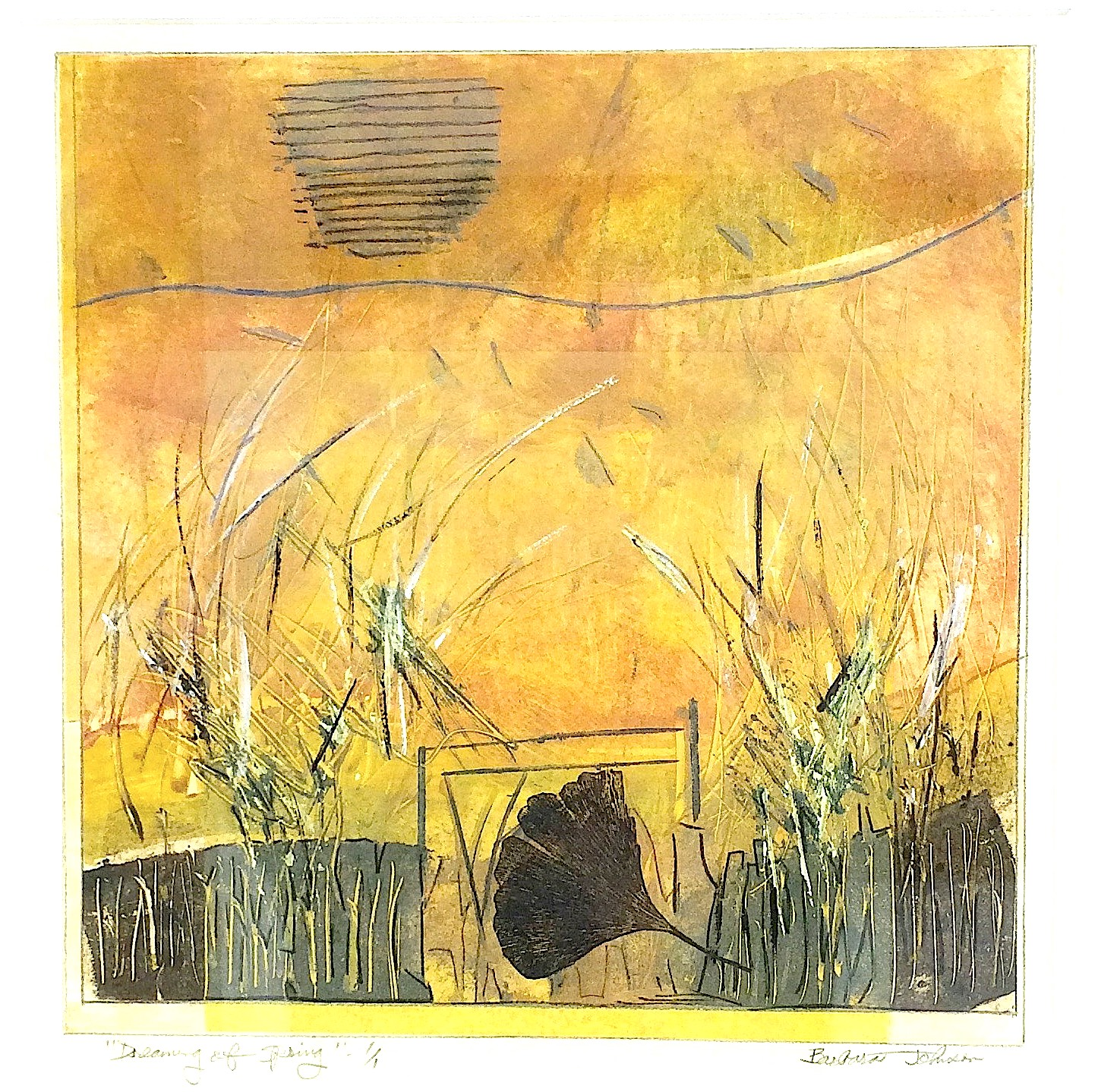 Dreaming of Spring by Barbara Johnson