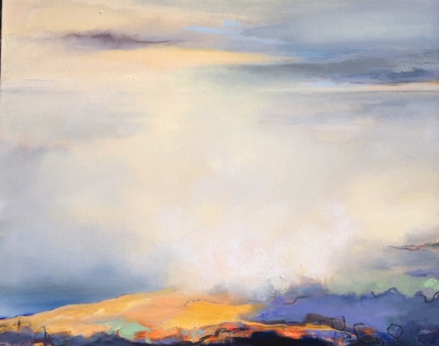 A Touch of Gold - Healey 24 x 30