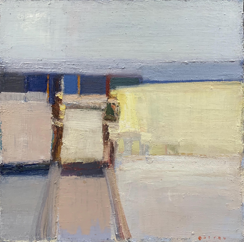 Receding Mist by Sandy Ostrau