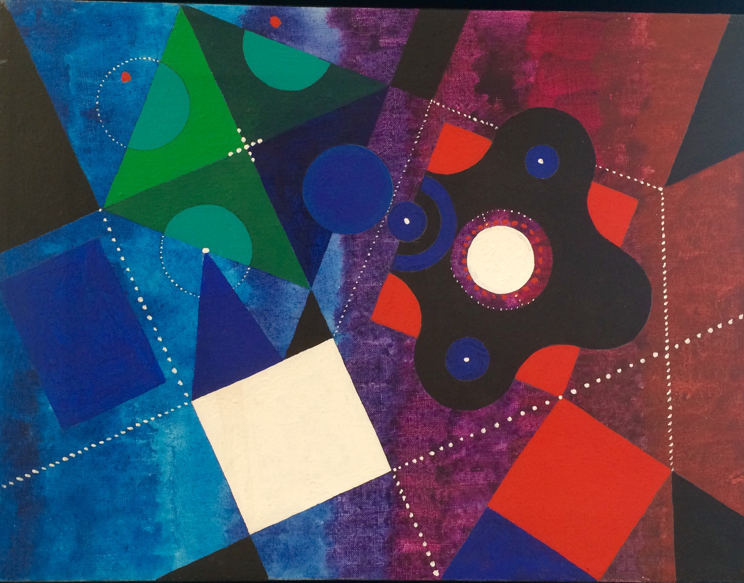 Untitled Geometric II by James McCray (1960s)