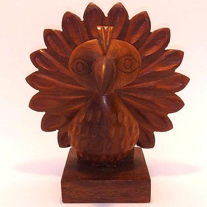 Matr Boomie carved wood eyeglass holder