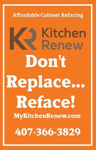 Kitchen Renew Cabinet Refacing orlando