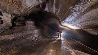 Una cueva enEspinosa de los Monteros que supera los 1.500 metros