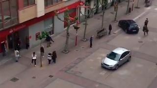 Dos detenidas tras una persecución policial por el centro de Miranda