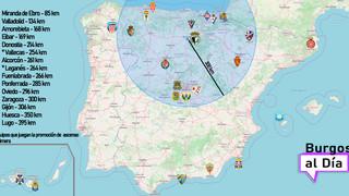 La Segunda División se juega en el norte