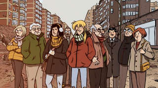 Gamonal en el eco de un mismo recuerdo, la novela gráfica que evoca la lucha de un barrio