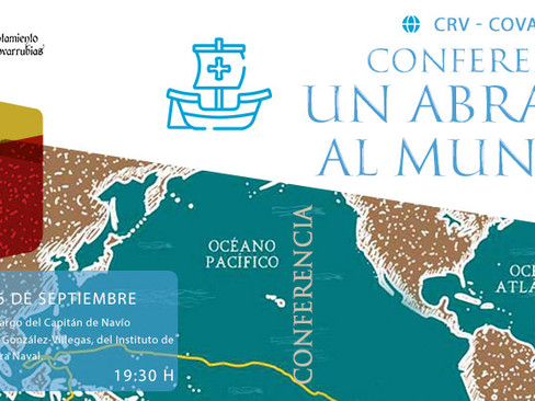 """La conferencia """"Un abrazo al mundo"""" cierra la programación cultural estival en Covarrubias"""