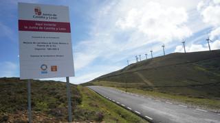 Nueva carretera de Picón Blanco a Puerto de la Sía