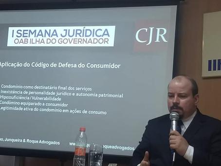 I Semana Jurídica OAB-RJ - I. Governador