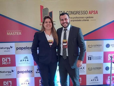 IV Congresso APSA - Caroline Roque e Rodrigo Coelho