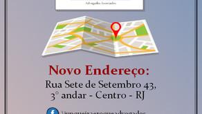 Novo endereço - CJR