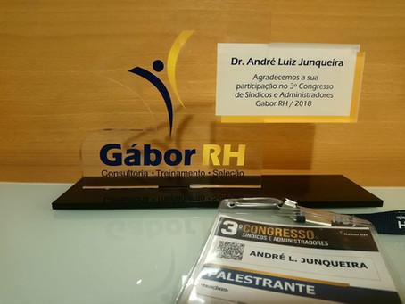 Reconhecimento no evento da Gábor RH em SP