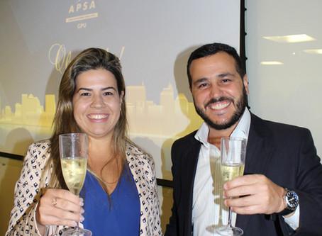 Caroline Roque e Rodrigo Coelho - Formandos GPU