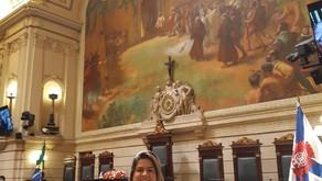 Menção honrosa na Câmara Municipal