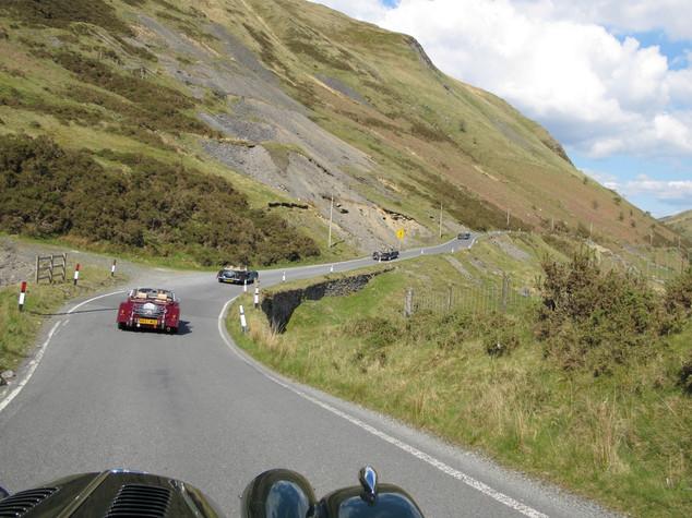 Devamog scenic run in Mid Wales