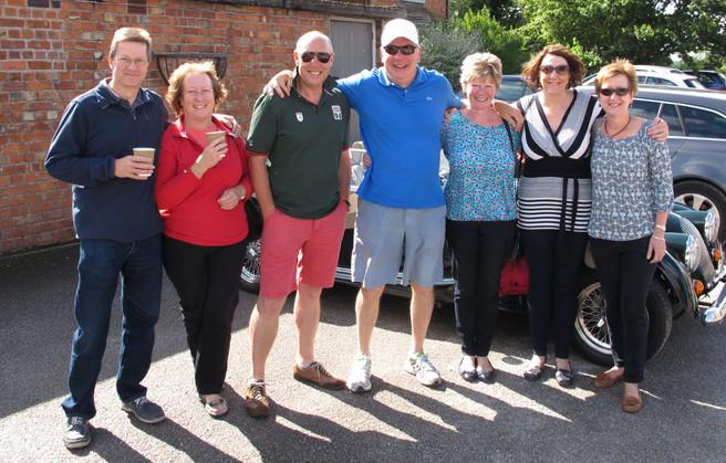 Devamog at the Cholmondeley Arms Car Meet