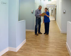 Hospital Flooring Manchester