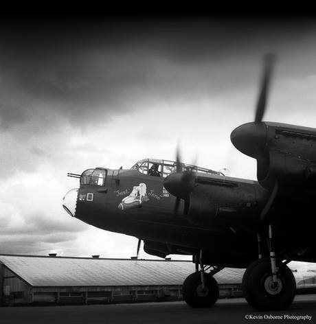 Just Jane Avro Lancaster Bomber