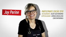 Chef Joy Perini no Morretes Chef 2020