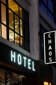CHAOS HOTEL BUKIT BINTANG SIGNAGE