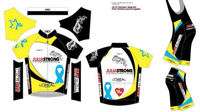 The Juliastong Foundation Cycling and Triathlon Uniform