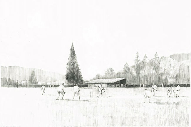 Decent Goodfellow Architects - Coniston Cricket Pavilion Drawing
