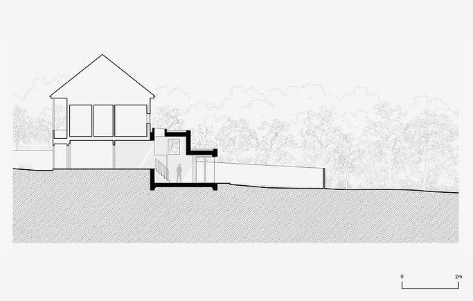 Decent Goodfellow Architects - Elmbridge Avenue Drawing