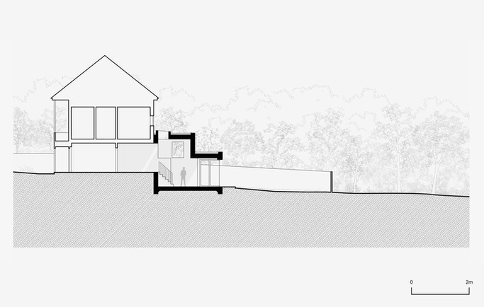 Decent Goodfellow Architects - Elmbridge Avenue Drawing