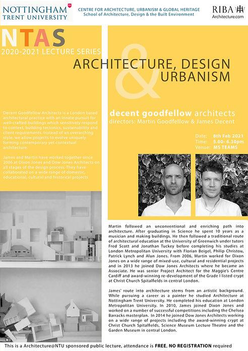Arch & Urbanism Series Decent_Goodfellow
