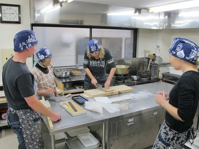 Join a Soba Noodle Cooking Class
