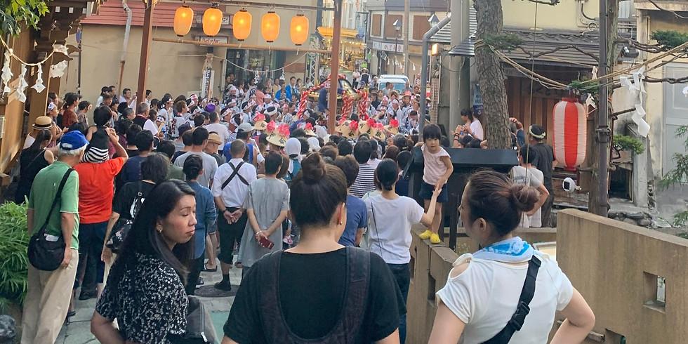 Yuzawa Shrine's Lantern Festival