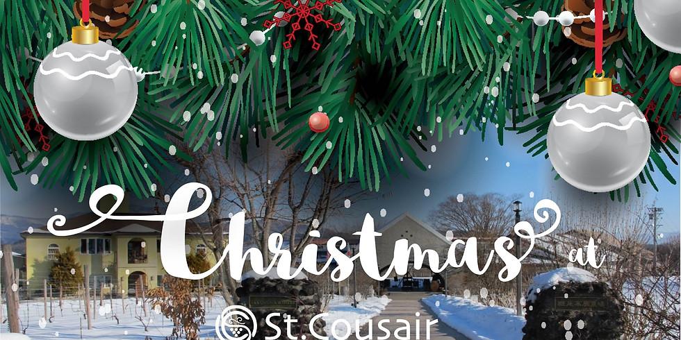 St.Cousair Winery Christmas Dinner & Estate Tour