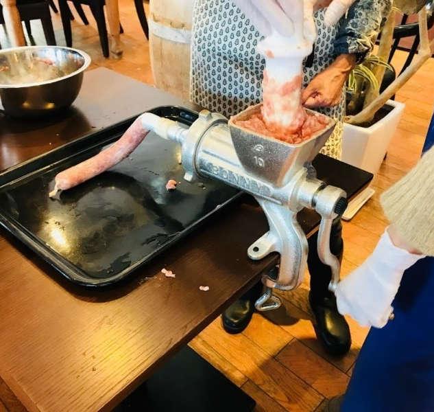 Artisan Sausage Making & Wine Tasting