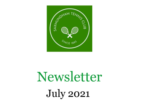 July 2021 newsletter out now