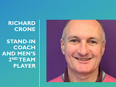 60-second interview with Richard Crone