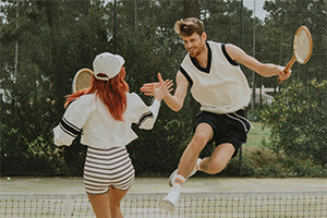 The popular Sax mixed doubles Tuesday Tournament returns on 10th August!