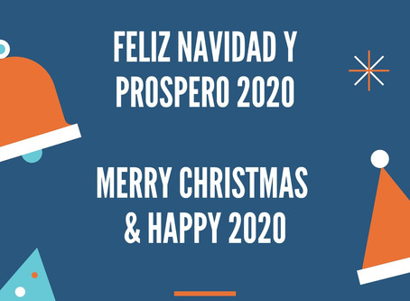 FELIZ FIESTAS / HAPPY HOLIDAYS