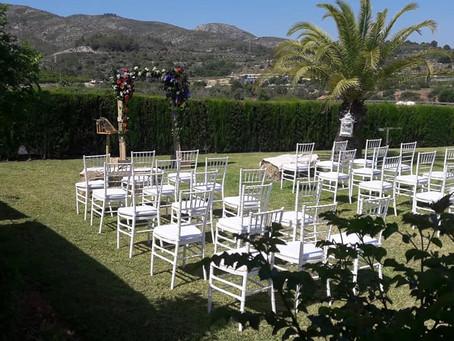 Beautiful Wedding at Vall de Cavall in the Costa Blanca
