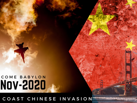 WARNING - West Coast Chinese Invasion As Soon As 2020