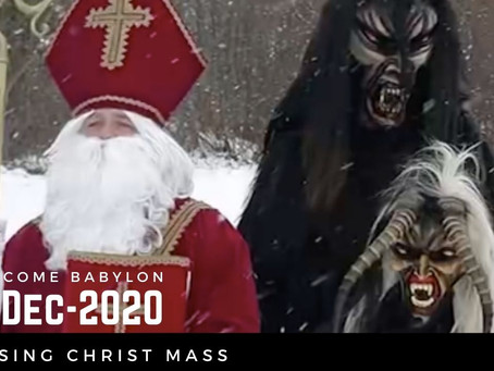 """Exposing Christmas - The Most Evil High """"Holy"""" Day Of The Year"""