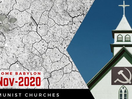 Why Is America Collapsing? pt3: Communist Churches