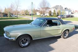 Mustang 66 coupé Nissart Concept