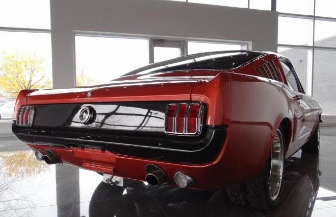 Mustang Restomod Nissart Concept