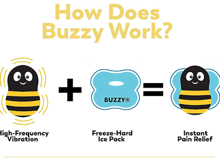Don't Bee Scared, Buzzy is Here!
